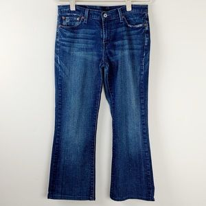 Lucky Brand Garden Sweet N Low Dungarees Size 30